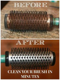 Clean your hairbrushes if you really want a good hair day. | 37 Deep Cleaning Tips Every Obsessive Clean Freak Should Know