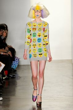 Jeremy Scott Fall 2012: For the Lisa Frank/Bart Simpson Generation
