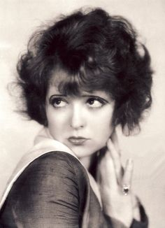 Betty Boop was modeled after Clara Bow.