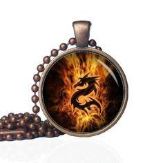 Tribal Dragon  Majestic Dragon  Fire Dragon by KingFamilyCreations
