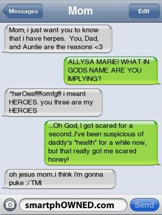 Page 22 - Autocorrect Fails and Funny Text Messages - SmartphOWNED