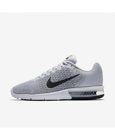 896555e69f6e Nike Air Max Sequent 2 Pure Platinum Cool Grey Wolf Grey Black 852461-002  Nike