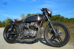 1979 honda cb650 cafe racer - Such a well done custom job. Inspiration.