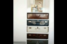 Suitcase drawers from the Block NZ