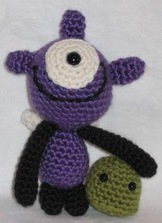 Monsters under my Bed  PDF amigurumi crochet pattern by anapaulaoli, $2.50