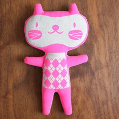 pink cat :: mia hansen designs