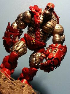 AOA Colossus (loosecollector) (Marvel Legends) Custom Action Figure