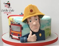 Fireman Sam by Emma Lake - Cut The Cake Kitchen