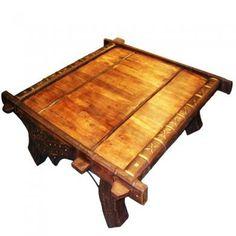 Rare Merchant Ox Cart Table