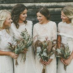 Ladies of the lace. #prettypack #fancyfriends #ivorytribe photo @nectarine