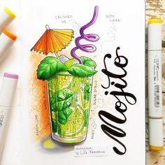 1/8 theme of my summer drawing challenge- cold drinks. Наступило 1 июля, а значит, наконец-то пора объявить первое задание! Очень актуальное в такую погоду, кстати. Итак, тема 1/8 - прохладительные напитки. Принимаются соки, воды, газировки, коктейли и все, что может спасти нас в летнюю жару. Рисуем до понедельника и не забываем хэштег #lk_sketchflashmob. Этот скетч, кстати, сделан в блокноте, который достанется победителю специальной номинации от @tsusketch. У него очень приятная на ощупь…