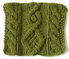 Stitchfinder : Knit Stitch: Diamond And Bobble : Frequently-Asked Questions (FAQ) about Knitting and Crochet : Lion Brand Yarn