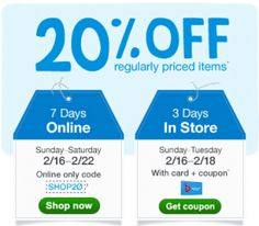 Walgreens: 20% Off Regularly Priced Items Coupon