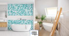 Bagni piccoli: 15 soluzioni per una ristrutturazione moderna! Ispiratevi Bathtub, Bathroom, Trendy Tree, Standing Bath, Washroom, Bathtubs, Bath Room, Bath, Bathrooms