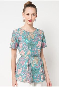 Blouse Batik Nitik Balpung from Adikusuma Batik Kebaya, Batik Dress, Fashion 101, Asian Fashion, Womens Fashion, Blouse Batik Modern, Batik Fashion, Cool Outfits, Style Inspiration