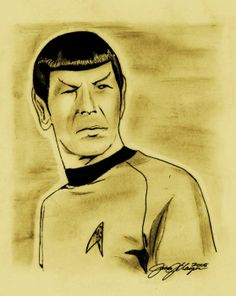 Spock Greeting Card - Credit: Jason Kasper