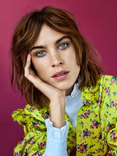 "alexachung: ""  Alexa Chung for Glamour UK, April 2016 """