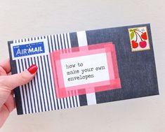 Make your own envelope DIY