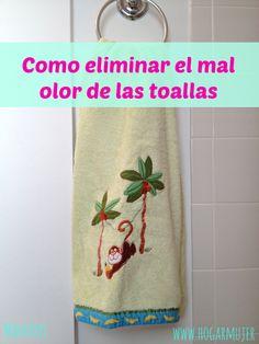 Como eliminar el mal olor de las toallas #consejosdelhogar