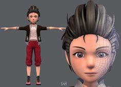 Base ManV02 Clothing V02 | 3D model Character Modeling, 3d Character, Boy Images, Cartoon Boy, 3d Animation, 3d Printing, Disney Characters, Fictional Characters, Base