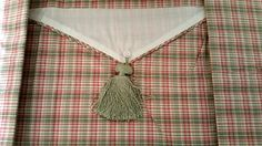 Waverly Ascot Valance Pimlico Plaid Discontinued 52 x 20 Pistachio Coral #Waverly