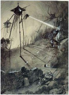 War of the Worlds by Alvim Corrêa. After two major cinematographic adaptations, I wonder when someone will film a faithful version to the epoch in which the story takes place.