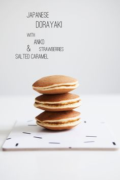 ... japanese dorayaki - the scandinavian version with salted caramel ... Never seen these before, they look yummy