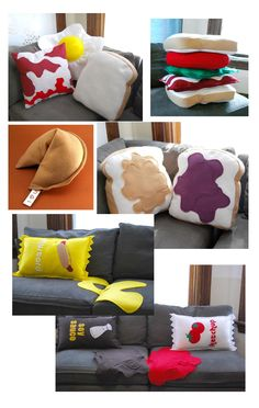 "I look at this and am like ""who would like this?"" then I think...""my brother.""....food pillows."