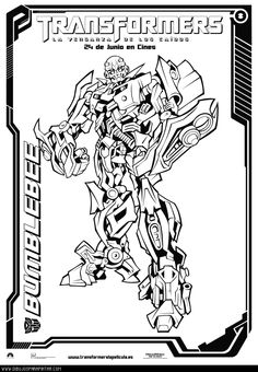 Transformer Coloring Pages For Kids  MandalasColoring