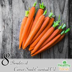 8 Benefits of Carrot Seed Essential Oil - Healthy Focus