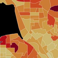 Mapping rent, income and other data in every American neighborhood Social Science Research, Us Map, Maps, The Neighbourhood, Cities, Blue Prints, City, Map, Cards