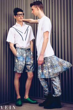 Chevalier-homme.com for www.veinmag.com love this photo