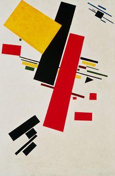 Kazimierz Malewicz(  Kasimir Malewitsch) Polish-Russian painter - Dynamischer Suprematismus.
