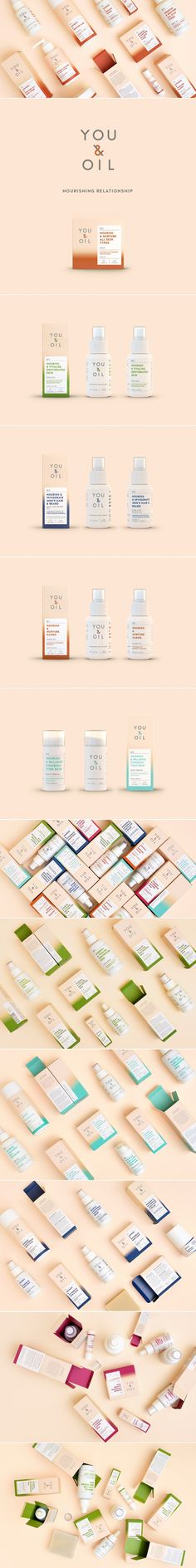 YOU & OIL Natural Cosmetics — The Dieline | Packaging & Branding Design & Innovation News