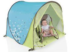 La Valise de l'été Jour 6 : Bébé bien protégé du soleil avec la tente anti-UV Babymoov ! - Pour les bébés