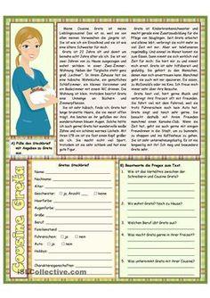 Textverstandnismit 6 Übungen1.Seite: A12. Seite: A2/ B1Umfang: 3 Seiten (m Lö) - DaF Arbeitsblätter
