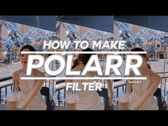 💫 how to make polarr filters #10 - YouTube