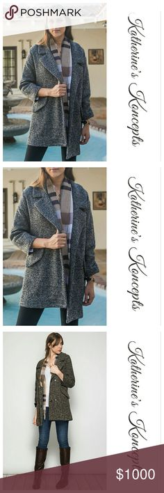 COMING SOON!!! Heather Grey Woven Peacoat New Boutique Heather grey, Woven, Peacoat!!! Coming soon! This beautiful warm peacoat is an essential staple for the season. It matches everything and bring high fashion to every look. 70% cotton 30% Rayon. Currently only grey. These will be $35 each! Save more by bundling. ❤The item you see is the exact item you will receive. Shop with confidence! ♥Brand new boutique items ♥100% Smoke and pet free environment  ♥Same or next business day shipping…
