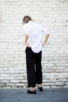 Relaxed tailored pieces worn with the Alfie One Square makes for the ideal work to dinner outfit. http://alfiedouglas.com/collections/alfie-one/products/alfie-one-square-black?utm_content=buffer3969b&utm_medium=social&utm_source=pinterest.com&utm_campaign=buffer
