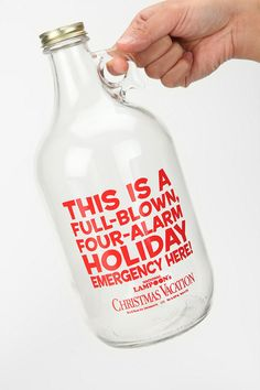 National Lampoon Growler.   I want one of these