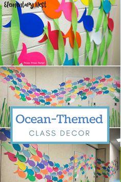 Classroom Tools, Classroom Setting, Classroom Design, Preschool Classroom, Classroom Themes, Preschool Activities, Ocean Themed Classroom, Kindergarten, Class Decoration