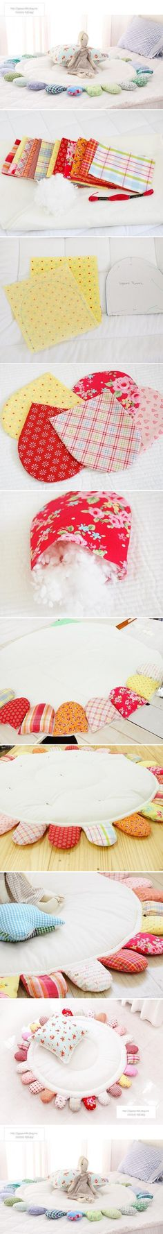 DIY Children Rug Patchwork DIY Children Rug Patchwork. So cool and so easy to make! Bianca@itti