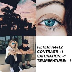 """Find and save images from the """"VSCO"""" collection by staying strong♡ (augustoswife) on We Heart It, your everyday app to get lost in what you love. Photography Filters, Photography Editing, Photo Editing, Fotografia Vsco, Feeds Instagram, Instagram Themes Vsco, Bio Instagram, Vsco Hacks, Best Vsco Filters"""