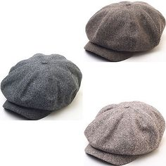 7589c2a043d N124 8 Panel Homespun Harris Donegal Tweed Pattern Fabric Newsboy Cap  Gatsby Hat