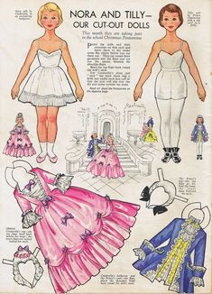 Image result for Tina a paper doll for months of the year