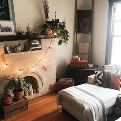 Hipster living room