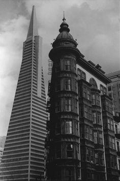 Postcard of San Francisco Skyline