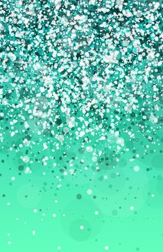 Aqua Green Glitter Sparkle Glow iPhone Wallpaper