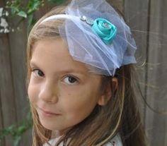 DIY Wedding Crafts : DIY Bridesmaid Headband - Tiffany Blue Wedding