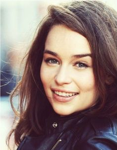 Emilia Clarke. Aka Daenerys Targaryen aka my Game of Thrones obsession